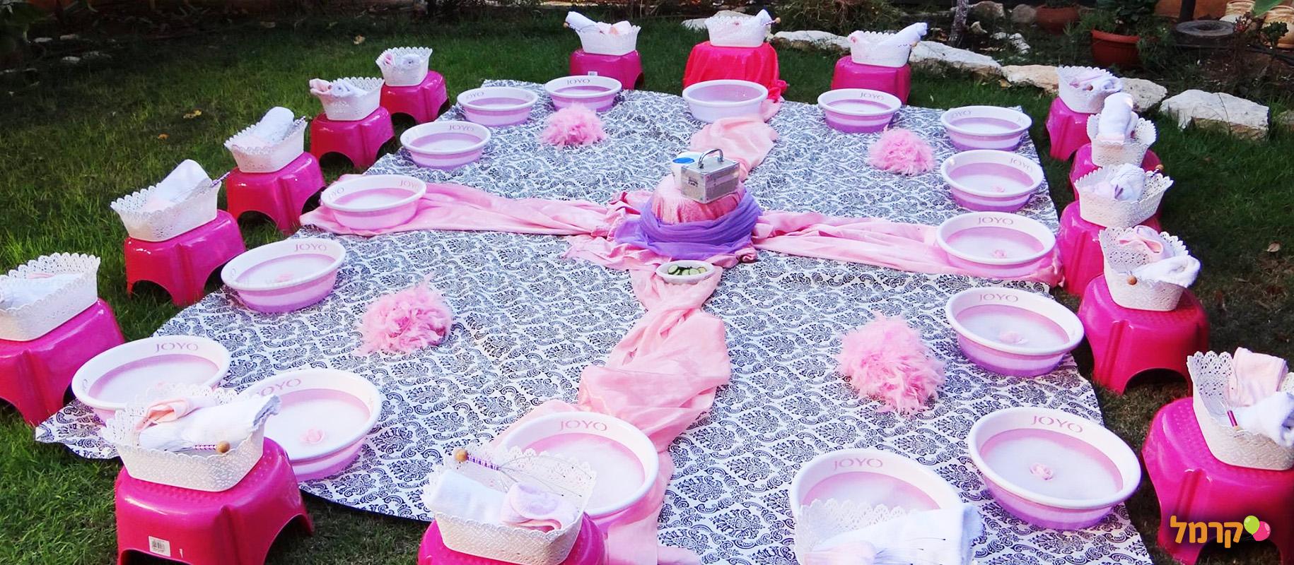 אבקת פיות - מסיבת ספא - 073-7828090